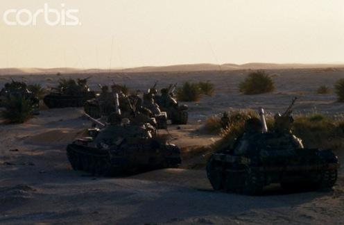 Guerra de los Toyota 1986-1987 tanques