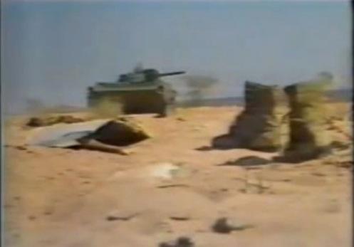 guerra de los toyota -libyan bmp-1