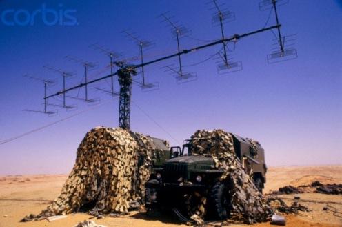 Guerra de los toyota, radar libio capturado