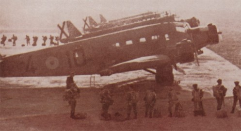 paracaidistas españoles -Junkers Ju-52 Ifni
