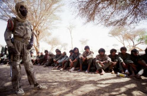 prisioneros libios, Guerra de los toyota 1986-1987.