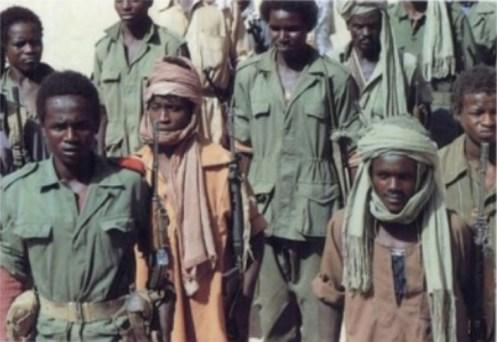 Soldados de Chad