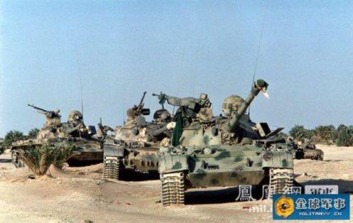 tanques libios abandonados en Chad (4)