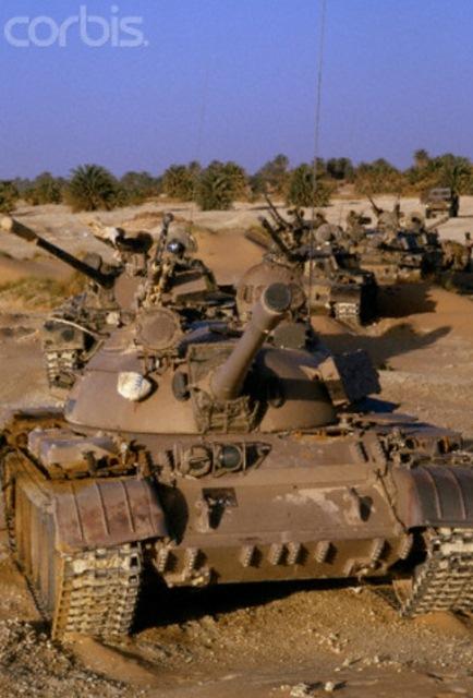 tanques libios abandonados- Guerra de los Toyota 1986-1987.x