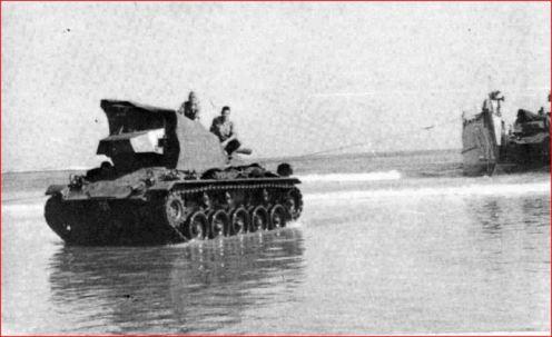 tanques M24 en IFNI