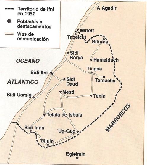 TERRITORIO DE IFNI EN 1957
