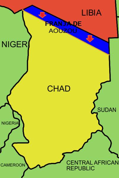 zona en disputa _franja de Aouzou_chad
