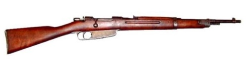 6.5mm Carcano M91TS Moschetto per Truppe Speciali (Special Troops carbine).