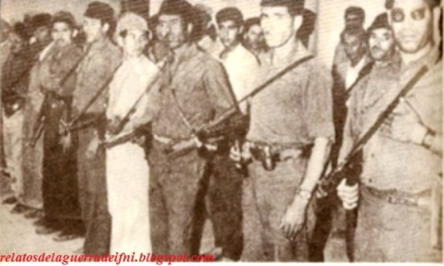 2 guerra de ifni ejercito de liberacion bandas armadas