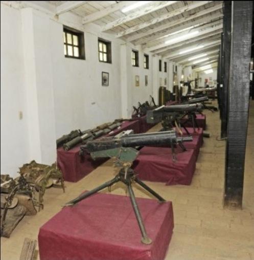 ametralladoras Museo Histórico de la Artillería paraguay