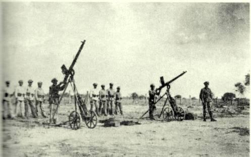 artilleros bolivianos