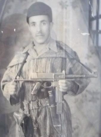 Combatiente del Ejército de Liberación de Marroqui-MAT-49