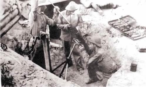 Durante el ataque para la recuperación de la laguna Pitiantuta, los paraguayos estrenaron una novedosa arma los morteros StokesBrant.2