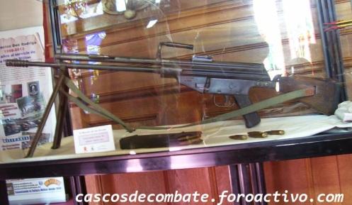 Fusil CETME mod. A2-a (número de serie 1800) en calibre 7'62x51 CETME (CSP-003) - copia