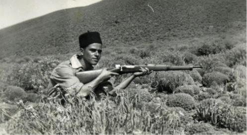 guerra de ifni 1957-1958..