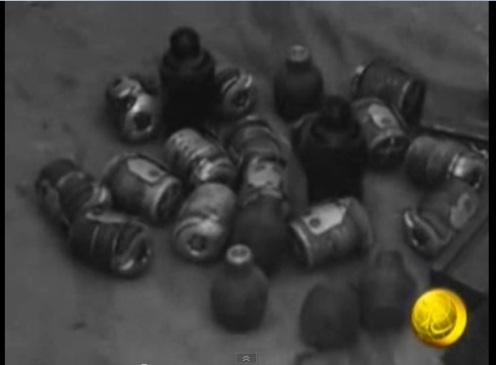guerra de ifni granadas confiscadas al ALM