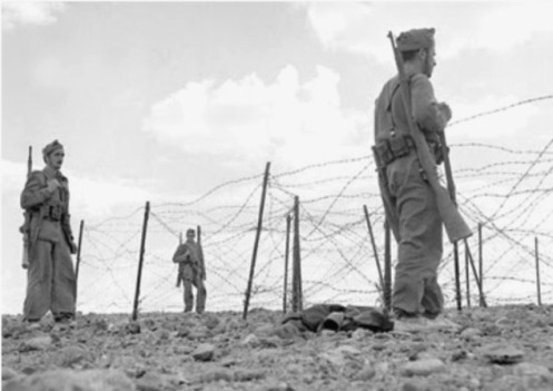 Guerra de ifni-sahara 1957-1958.
