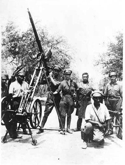 guerra del chaco- artilleria antiaérea boliviana
