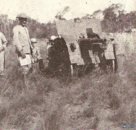 guerra del chaco -artilleria paraguaya