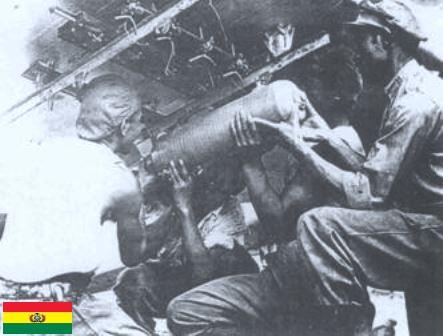 guerra del chaco -bomba boliviana