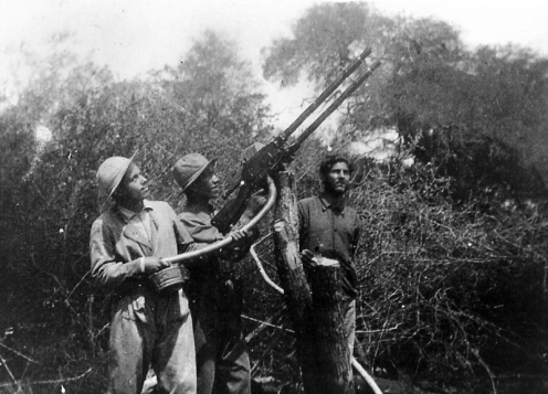 Guerra del chaco madsen doble de paraguay