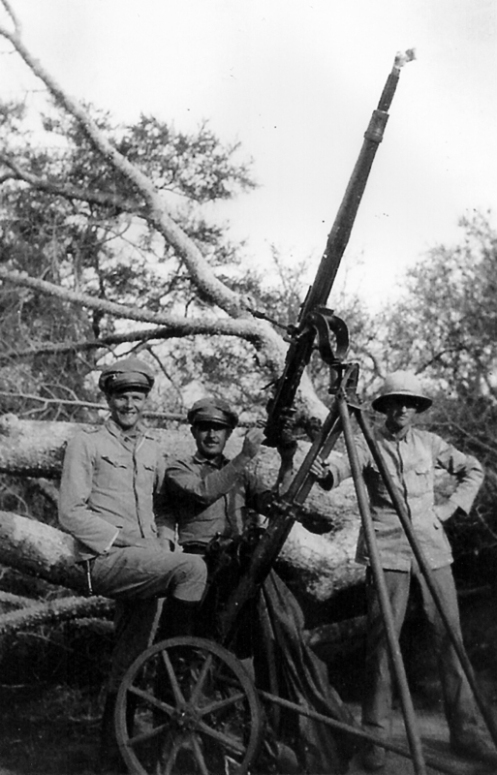 guerra del chaco-SEMAG OERLIKON MOD 1923 CAPTURADO