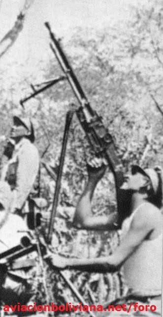 guerra del chaco -soldado bolivian zb-30 f