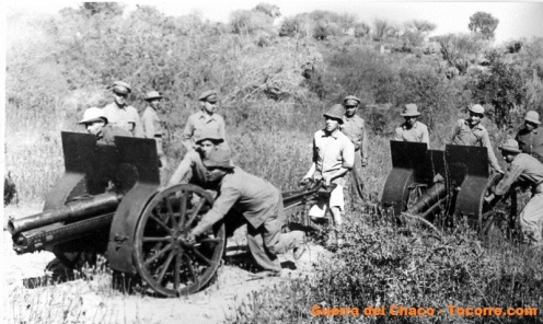guerra del Chaco tropas paraguayas f