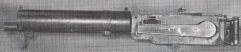 machine gun MG09