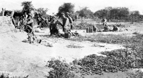 Mortero Boliviano Guerra del Chaco 32-35