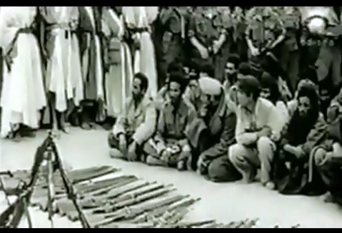 prisioneros saharauis Guerra de Ifni-sahara57-58