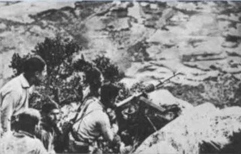 Puesto de ametralladra de Tiradores de Ifni (2)