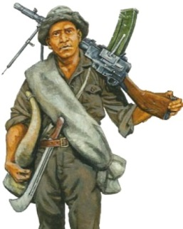 soldado paraguayo madsen