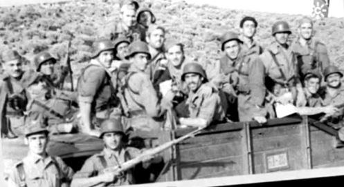 soldados españoles en la guerra de IFNi