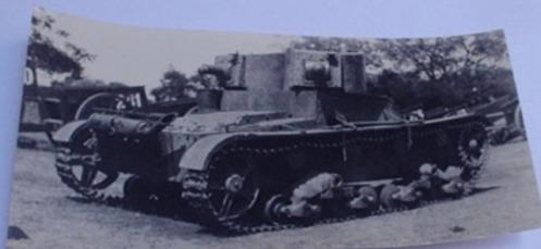 tanque vickers capturado-guerra del chaco
