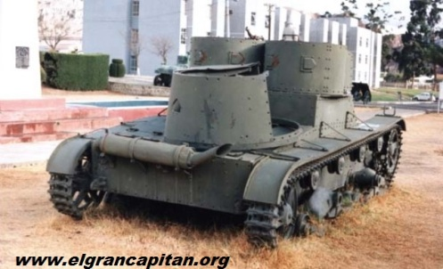 tanque vickers- guerra del chaco