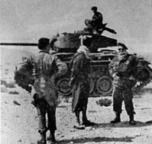Un M-24 de los Grupos de Caballería destacados en Ifni-Sáhara en 1.958.3