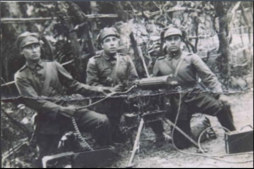 vickers guerra del chaco soldados bolivinosg