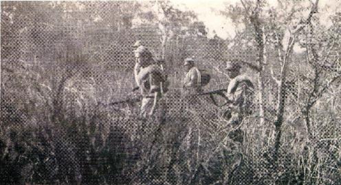 soldados bolivianos- guerra del chaco