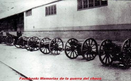 149018_367757guerra del chaco -armas capturadas