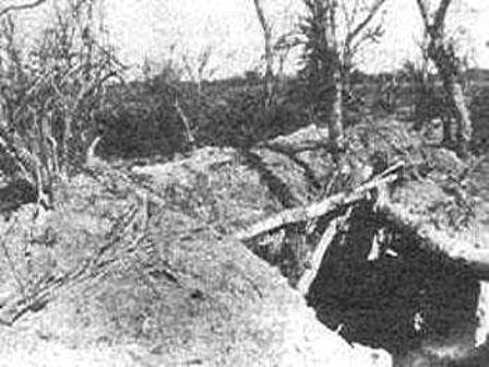 Batalla de Campo Jordan trinchera paraguaya