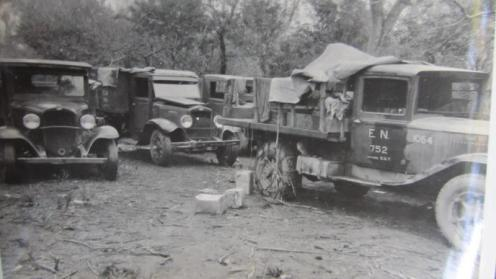 Camiones bolivianos capturados en Campo Vía dd
