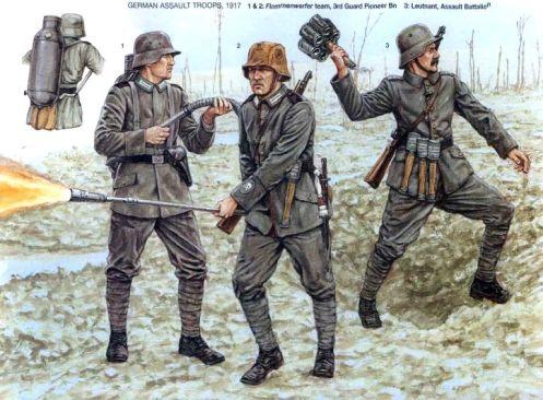 lanzallamas -primera guerra mundial