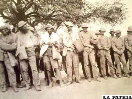 paraguayos prisioneros