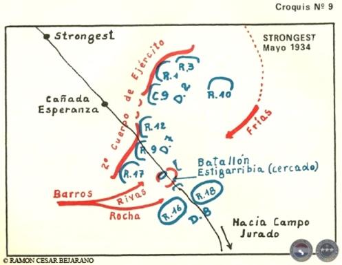 ramon cesar bejarano guerra del chaco strongest mayo 1934