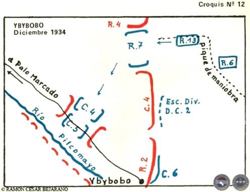 ramon cesar bejarano guerra del chaco ybybobo