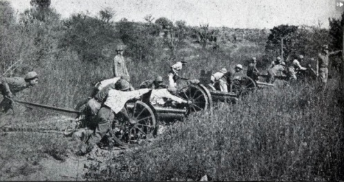 soldados paraguayos guerra del chaco--