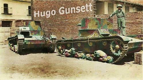 tanques guerra del chaco