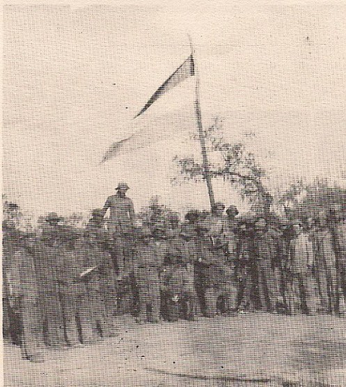 tropas paraguayas luego de la batalla de boquerón