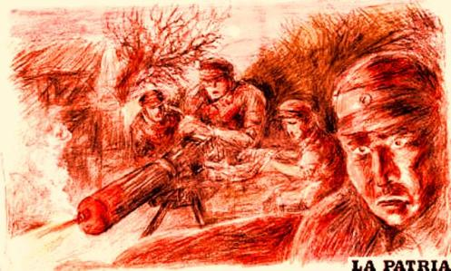 Un dibujo de Vicente González Aramayo Zuleta